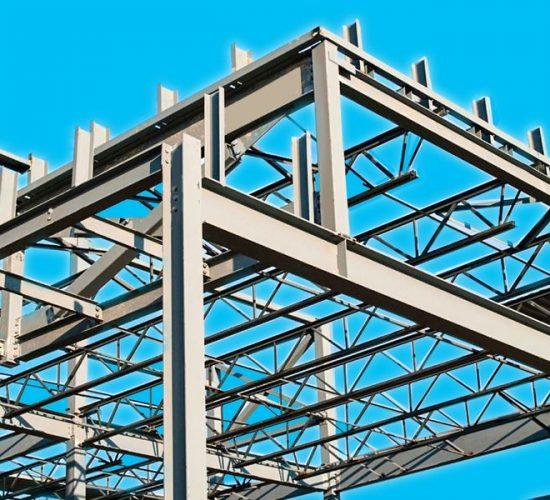 Изготовление металлоконструкций, опорных колонн, ферм