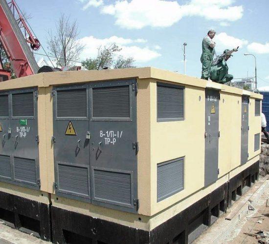 Строительство  объектов энергоснабжения